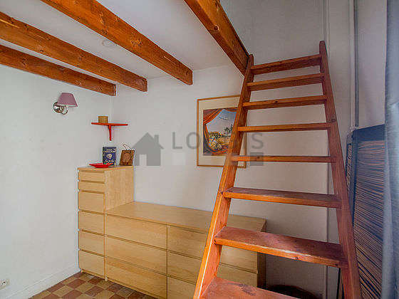 Quiet bedroom for 2 persons equipped with 1 mattress of 140cm