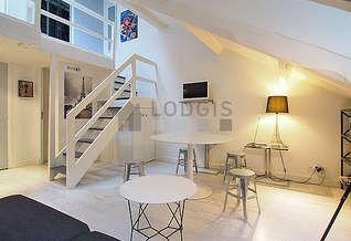 Invalides Paris 7° 1 bedroom Duplex