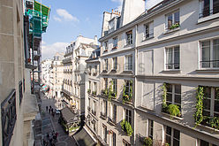 アパルトマン パリ 1区 - リビングルーム