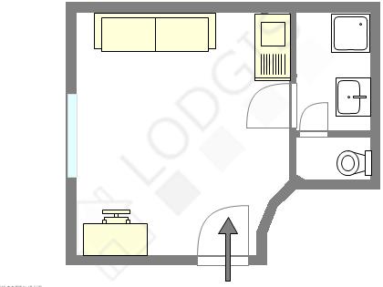 Квартира Париж 12° - Интерактивный план