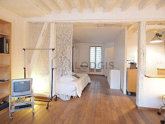 Beautiful, quiet sitting room of an apartment in Paris