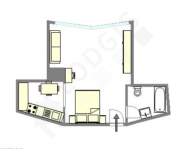 公寓 巴黎14区 - 互動圖