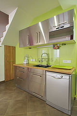 Дуплекс Париж 18° - Кухня