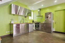Duplex Paris 18° - Cuisine