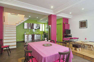 Montmartre Париж 18° 2 спальни Дуплекс