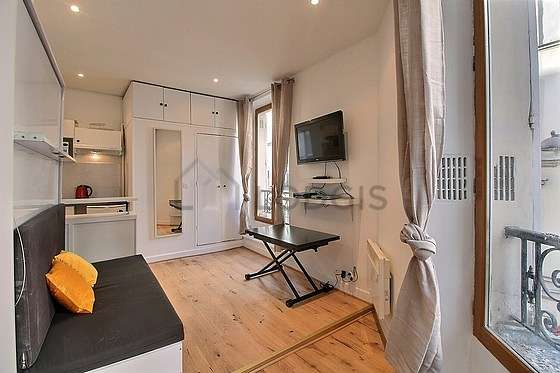location studio meuble paris 18