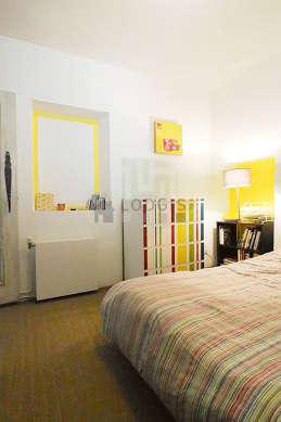 Chambre de 8m² avec du coco au sol