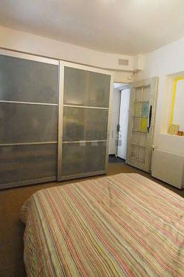 Chambre calme pour 2 personnes équipée de 1 canapé(s) lit(s) de 160cm