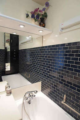 Bathroom equipped with tub