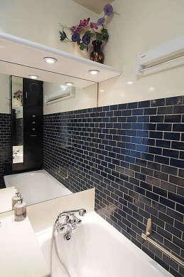 Bathroom equipped with bath tub