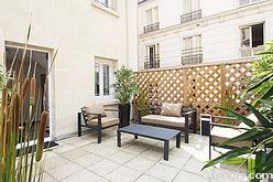 公寓 巴黎8区 - 陽台