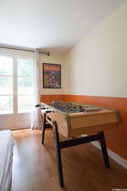 Chambre très calme pour 1 personnes équipée de 1 matelas de 80cm