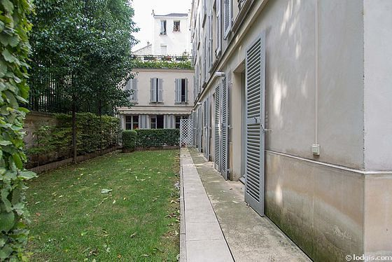 Appartement Paris 5° - Jardin
