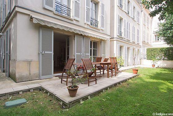 Location appartement 3 chambres avec jardin et ascenseur for Appart hotel paris location au mois