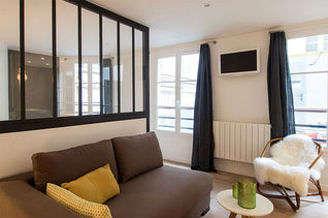 Hôtel de Ville – Beaubourg パリ 4区 ワンルーム アルコーヴ(しきりのない小空間)