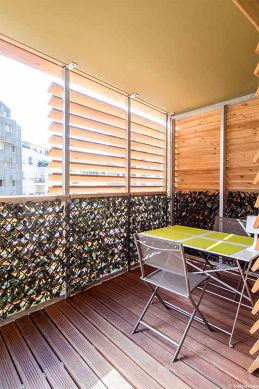 Terrasse très calme et très lumineuse