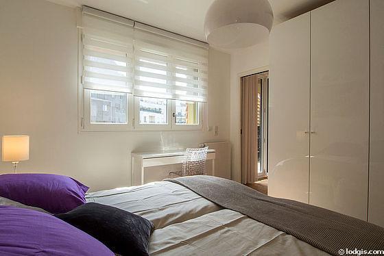 Chambre très calme pour 2 personnes équipée de 2 lit(s) de 80cm