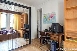 Apartamento París 15° - Dormitorio 2