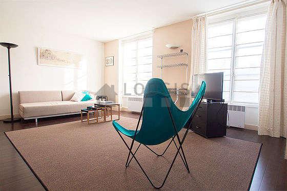Séjour calme équipé de 1 lit(s) armoire de 140cm, 1 canapé(s) lit(s) de 140cm, air conditionné, 1 fauteuil(s)