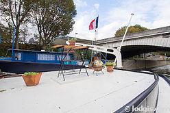 Баржа Париж 13° - Терраса