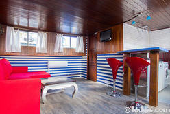 Boot Paris 13° - Wohnzimmer