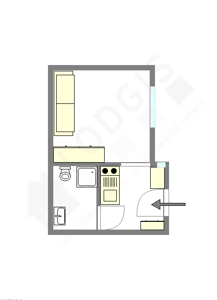 Wohnung Paris 7° - Interaktiven Plan