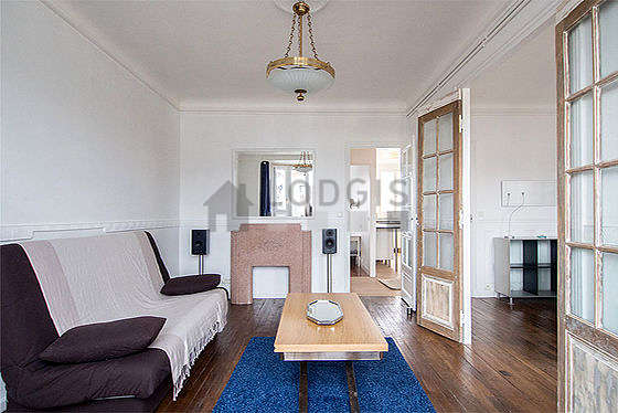 Location appartement 1 chambre avec ascenseur chemin e et for Appartement meuble paris long sejour