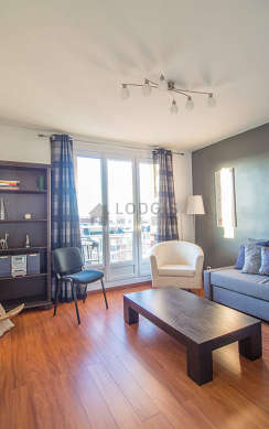 Quiet living room furnished with 1 sofabed(s) of 160cm, tv, hi-fi stereo, 1 armchair(s)