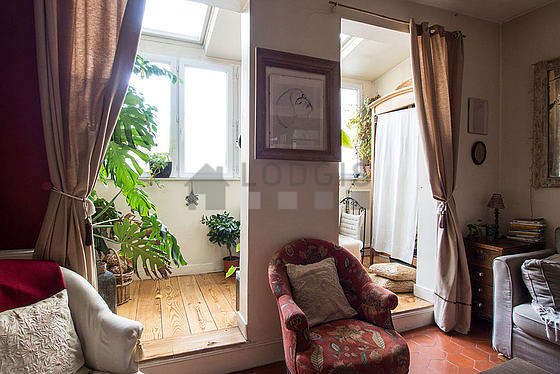 Location appartement 1 chambre avec terrasse paris 2 rue for Appartement meuble paris long sejour