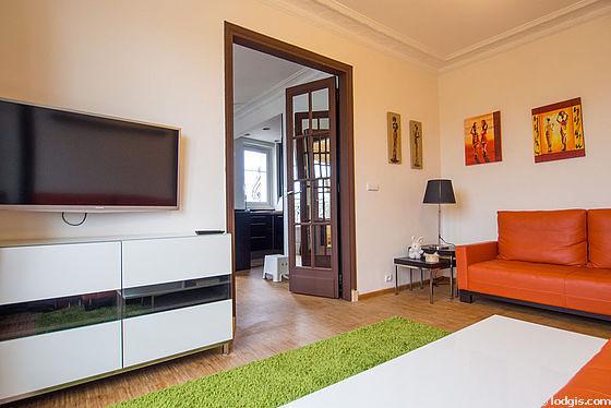 Chambre calme pour 2 personnes équipée de 1 lit(s) armoire de 140cm
