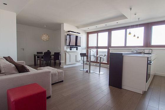location appartement 2 chambres avec piscine terrasse et ascenseur paris 15 rue georges. Black Bedroom Furniture Sets. Home Design Ideas