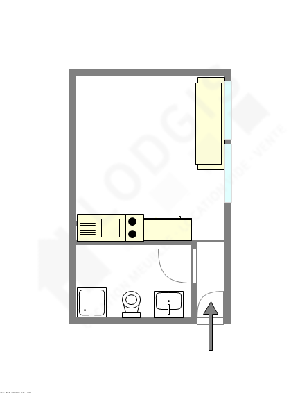 Apartment Haut de seine Nord - Interactive plan