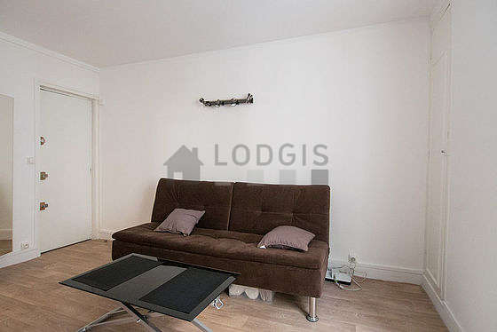 location studio paris 14° (rue daguerre)   meublé 15 m² port royal
