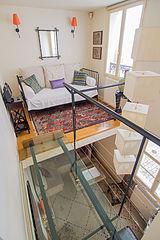 Triplex Paris 3° - Living room
