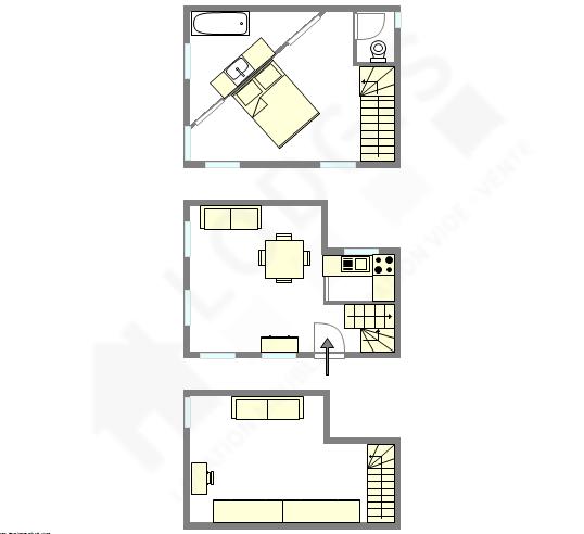 Casa Paris 12° - Plano interativo