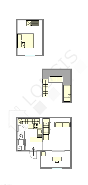 House Paris 15° - Interactive plan