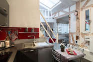 Maison individuelle Paris 15° - Cuisine