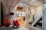 Maison individuelle Paris 15° - Séjour