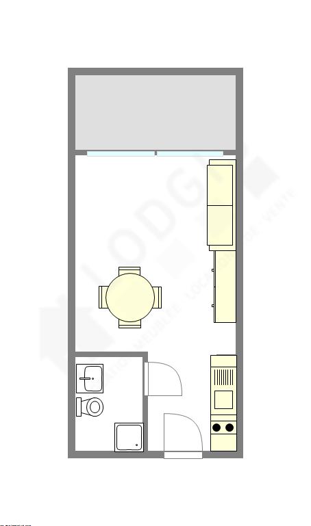 Квартира Париж 7° - Интерактивный план