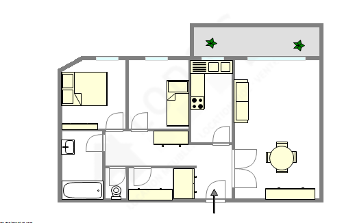 Appartement Val de marne sud - Plan interactif