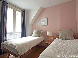 Apartment Paris 5° - Bedroom 3