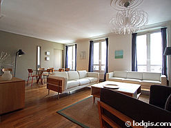 Apartment Paris 5° - Living room