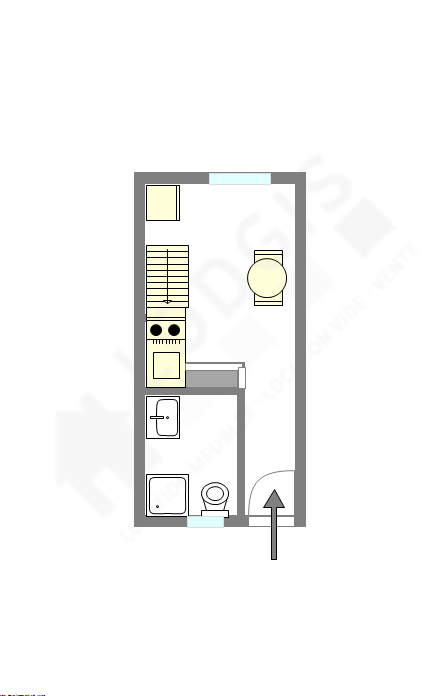 Appartement Paris 2° - Plan interactif