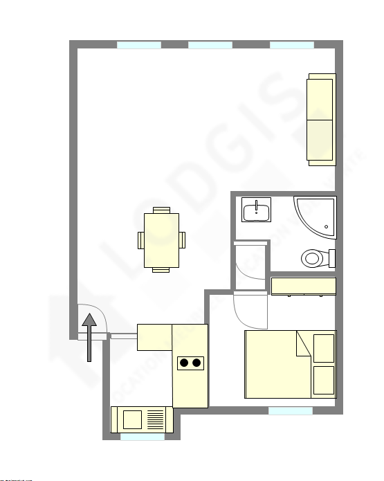 Wohnung Paris 2° - Interaktiven Plan