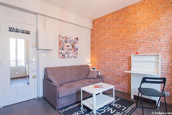 Location studio ivry sur seine 94200 meubl 16 m for Location appartement meuble sur paris