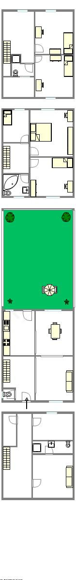 Casa Haut de Seine Nord - Piantina interattiva