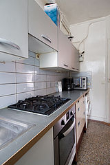 Квартира Париж 20° - Кухня