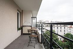公寓 巴黎19区 - 陽台