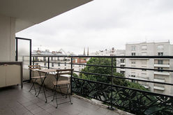 Appartement Paris 19° - Terrasse