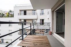 Wohnung Paris 19° - Terasse
